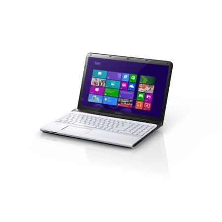 Refurbished Grade A1 Sony VAIO E15 Laptop in White with 8GB RAM!