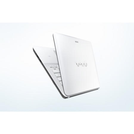 Refurbished Grade A1 Sony VAIO Fit E 14 Core i3 4GB 750GB 14 inch Windows 8 Laptop in White