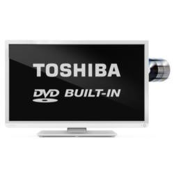 Ex Display - As new but box opened - Toshiba 32D1334DB 32 Inch Freeview LED TV with built-in DVD Player