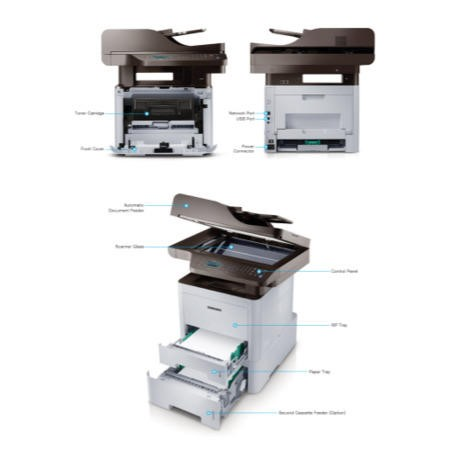 Samsung ProXpress M3870FW Monochrome Laser - Fax copier printer scanner
