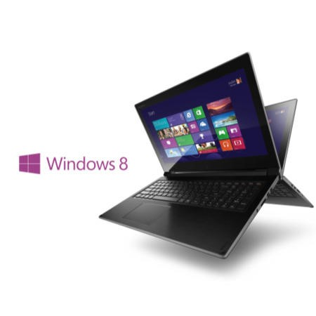 Refurbished GRADE A1 - As new but box opened - Lenovo Flex 15D AMD A6 8GB 1TB Windows 8.1 15.6 inch Touchscreen Convertible Laptop