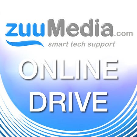 Online Drive (Home Backup) 100GB - 1 Year