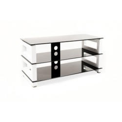 Ex Display - As New - Optimum Stage 1000 White TV Stand - Up to 46 inch
