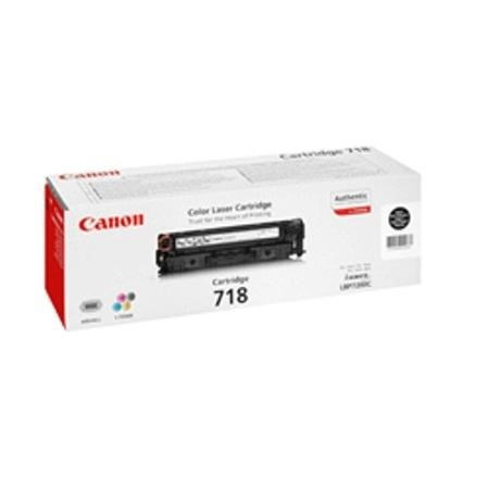 Canon Toner Cartridge 718 - Black