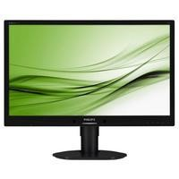 "Philips Brilliance B-line 241B4LPYCB - 24"" LED-backlit LCD monitor w/ USB Hub"