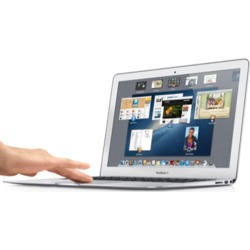Refurbished Grade A1 Apple MacBook Air 4th Gen Core i5 4GB 128GB SSD 13.1 inch Mac OS X 10.8 Mountain Lion - Silver