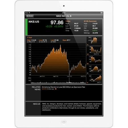 "Refurbished A1 Apple iPad with Retina Display with Wi-Fi 128GB 9.7"" White Tablet"
