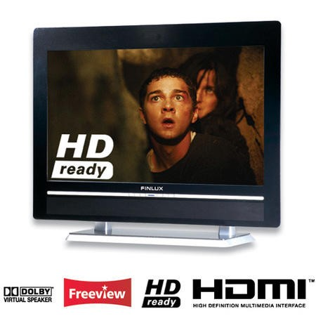 FO - Finlux 26inch HD Ready LCD TV with Freeview 11866/26FLD745