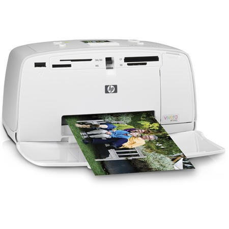 HP PhotoSmart A516 Compact Photo Printer 11196/Q7021A#ABU