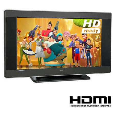 FO - Techwood 37 Inch LCD HD Ready TV 10624/37722HD
