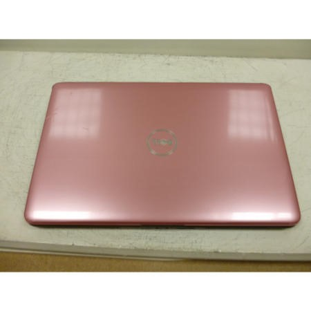Preowned T2 Dell Inspiron 1545 PP41L 1545-8225 laptop in Black with Pink Lid