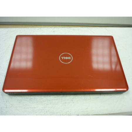 Preowned T3 Dell 1564 1564-0096 Laptop with Red Lid/Grey Body
