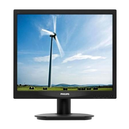 "Philips S-line 17S4SB - 17"" LED-backlit VGA/DVI-D LCD monitor"