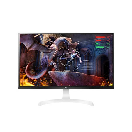 "GRADE A2 - LG 27"" 27UD69P-W IPS 4K Freesync HDMI Gaming Monitor"
