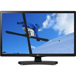 "LG 28"" Black Smart LED Monitor 1366 x 768 Speakers USB DVI and HDMI"