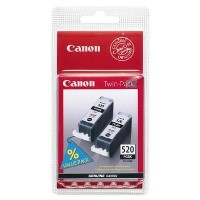 Canon PGI 520BK Twin Pack - Ink tank - 2 x black