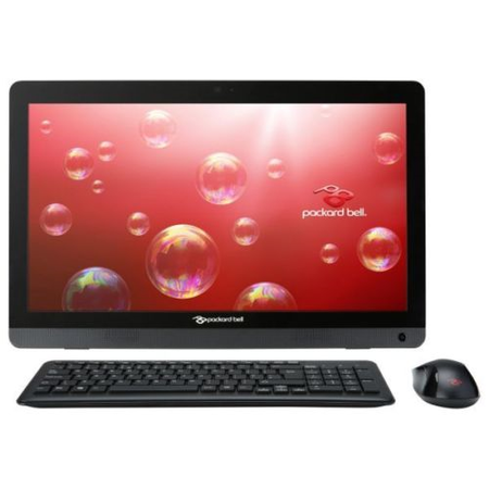 "Refurbished Packard Bell S3280 19.5"" All in One AMD A4-6210 1.8GHz 4GB 1TB DVD-RW AMD Radeon R3 Windows 8 Laptop"