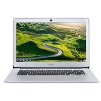 "Refurbished Acer CB3-431-C9WH 14"" Intel  Celeron N3060 1.6GHz 2GB 16GB Chrome OS Chromebook in Silver"