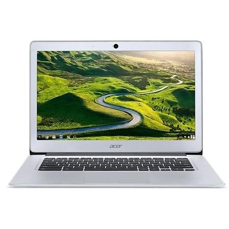 A3/NX.GC2EK.001 Refurbished Acer CB3-431-C9WH Intel  Celeron N3060 2GB 16GB 14 Inch Chrome OS Chromebook in Silver