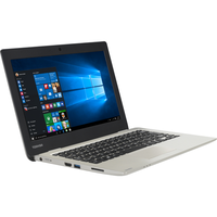 "Refurbished Toshiba Satellite CL10-C-102 11.6"" Intel Celeron N3050 1.6GHz 2GB 32GB Win10 Laptop in Satin Gold"