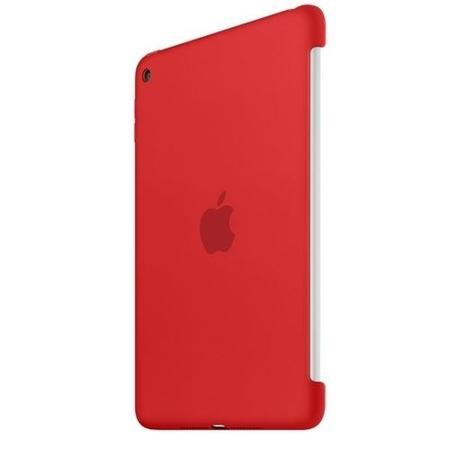 Apple Silicone Case for iPad Mini 4 in PRODUCT RED