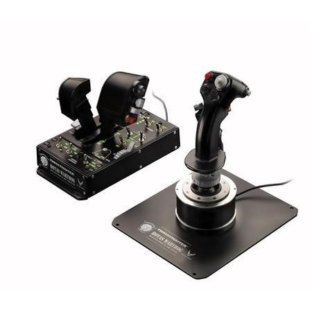2960720 Thrustmaster Hands On Throttle And Stick HOTAS Warthog Joystick