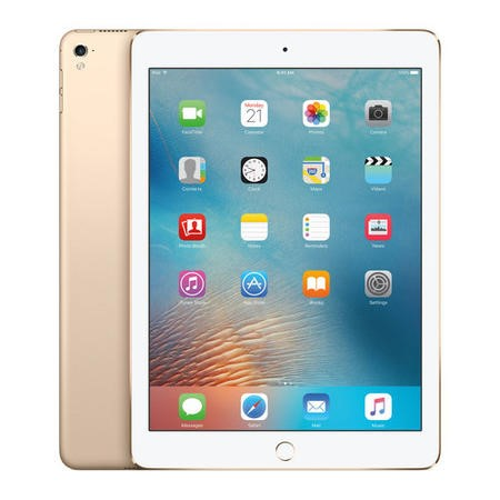 MLQ52B/A Apple iPad Pro 128GB WIFI + Cellular 3G/4G 9.7 Inch iOS 9 Tablet - Gold