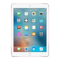 Apple iPad Pro 128GB WIFI + Cellular 3G/4G 9.7 Inch iOS 9 Tablet - Rose Gold