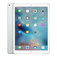 Apple iPad Pro 256GB 12.9 Inch iOS 9 Tablet - Silver