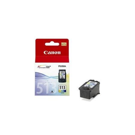 Canon CL 513 - Ink tank - 1 x colour cyan magenta yellow - 349 pages - blister with security