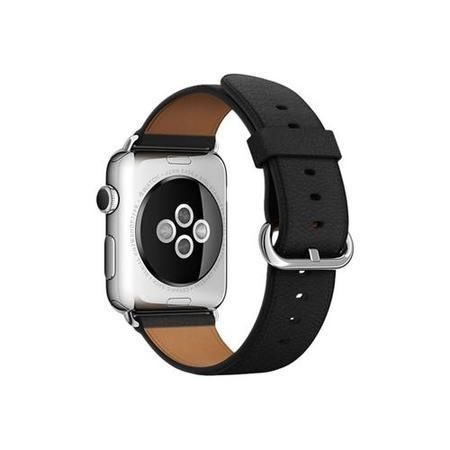 Apple 42mm Classic Buckle Black Watch Strap