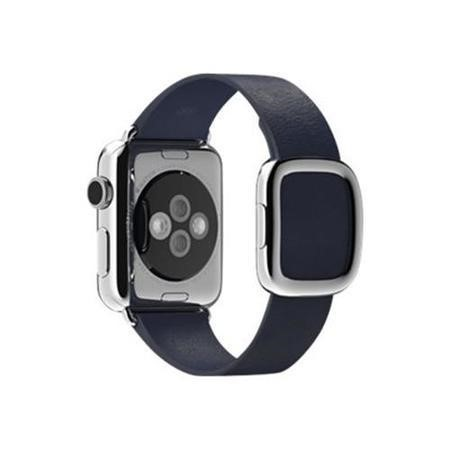 Apple 38mm Modern Buckle Watch Strap - Small  midnight blue for Watch Hermès