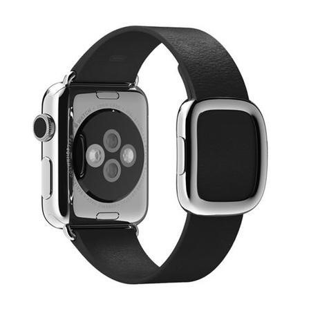 Apple 38mm Modern Buckle - Small - watch strap - black - for Watch 38 mm