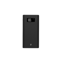 ttec AlumiSlim 10000mAh Powerbank w/LCD Display - Black