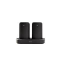 ttec PowerStones Trio Powerbank Set - 2 x 5000mAh - Black w/Charging Dock
