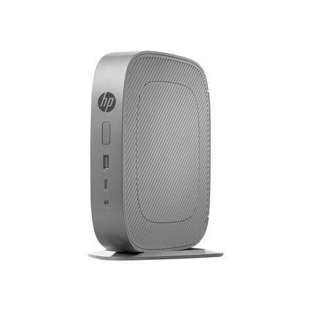 Hewlett Packard HP t530 - Thin client - tower - 1 x GX-215JJ 1.5 GHz - RAM 4 GB - flash 8 GB - MLC - Radeon R2E - GigE - HP ThinPro - monitor_ none