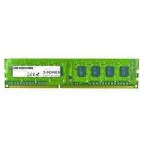 2-Power DIMM Memory 2GB DDR3 1333MHz SR DIMM Memory
