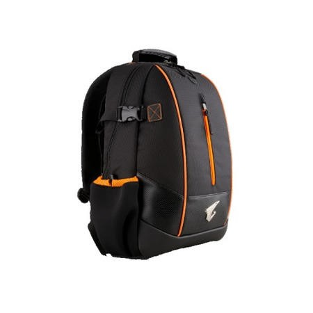 Aorus B3 Performance Gaming Laptop Backpack Case - Black/Orange 14""