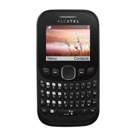 Alcatel 30.00D Tribe Black Sim Free Mobile Phone