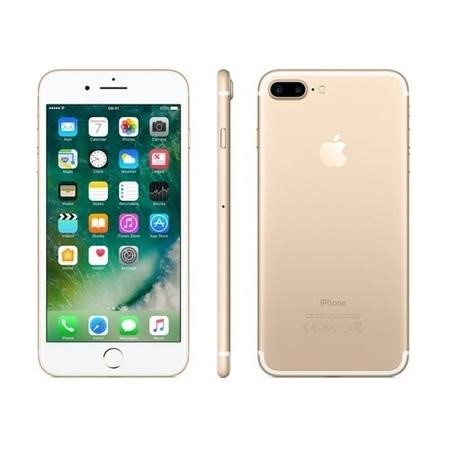 "MN4Q2B/A Apple iPhone 7 Plus Gold 5.5"" 128GB 4G Unlocked & SIM Free"