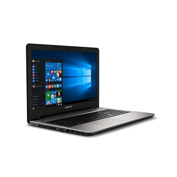 Medion Akoya E6421 Core i5-6200U 8GB 1TB 15 6 Inch DVD-RW Windows 10 Laptop