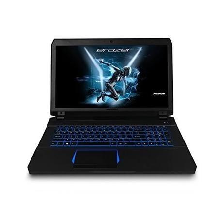 Medion Erazer X7853 Core i7-7700HQ 16GB 256GB & 1TB GeForce GTX 1070 17 3  Inch Windows 10 Gaming Laptop