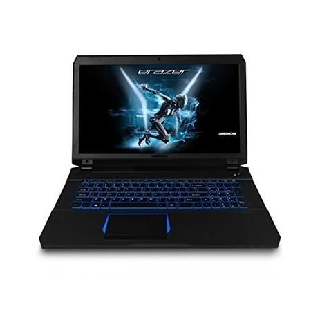 30023004 Medion Erazer X7853 Core i7-7700HQ 16GB 1TB + 256GB SSD GeForce GTX 1070 Windows 10 Gaming Laptop