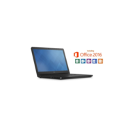 Dell Vostro 3558 Intel Core i3-5005U2GHz 4GB 500GB 15.6 Inch Windows 7 Professional Laptop + Microsoft Office Home & Business 2016