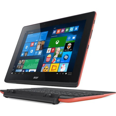 "A1/NT.G0PEK.002 Refurbished Acer Aspire Switch 10.1"" Intel Atom Z3735F 1.33GHz 2GB 32GB Touchscreen Convertible Windows 10  Laptop in Red"