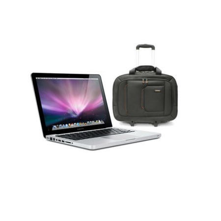 BUN/MF839B/A/69597 Apple MacBook Pro 5th Gen Core i5 8GB 128GB SSD 13.3 inch Retina Intel Iris 6100 Laptop + ElectrIQ Globetrotter Trolley Bag