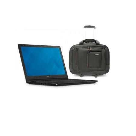 Dell Vostro 3558 Core i3-5005U 2GHz 4GB 500GB 15.6 Inch Windows 7 Professional / Windows 7 Pro Laptop + ElectrIQ Globetrotter Trolley Roller Bag