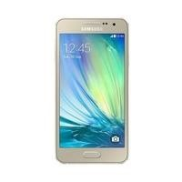 Samsung A3 Sim Free Android - Gold