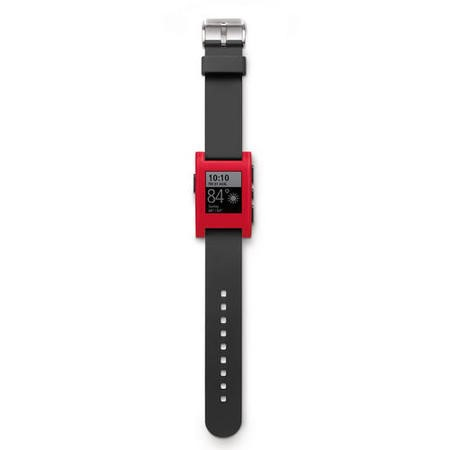 Pebble Classic Smartwatch - Cherry Red