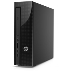 Refurbished HP Slimline 4411-a000na Intel Celeron N3050 1.6GHz 4GB 1TB DVD-SM Windows 10 Tower Desktop